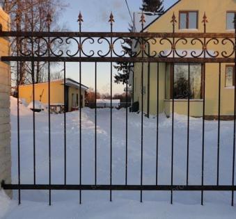 Кованый забор №120